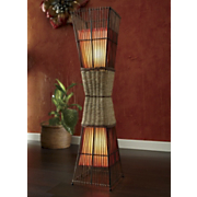 Floor Lamp Palisade Cane