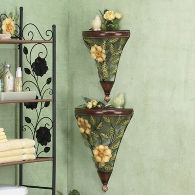 Set of 2 Magnolia Shelves