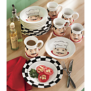 12-Piece Chef Dinnerware Set