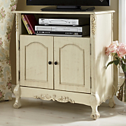 Antiqued TV Stand