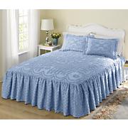 Chenille Ruffled Bedspread