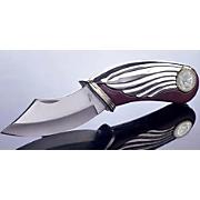 Silver Barber Dime Pocket Knife