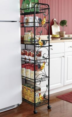 Rooster Slim Storage Cart
