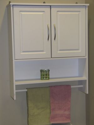 Bathroom 2 Door Wall Cabinet
