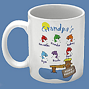 Grandpas Fishing Buddies Mug