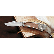 buffalo nickel knife with ruby