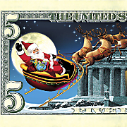 Jingle Bucks $5 Bill