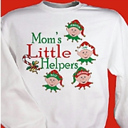 Personalized Little Helpers Sweatshirt