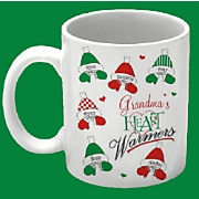 Personalized Heart Warmers Mug