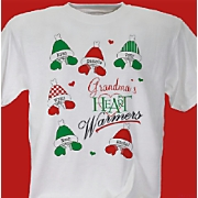 Personalized Heart Warmers T-Shirt