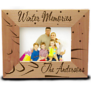 Personalized Winter Memories Frame