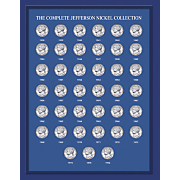 Complete Jefferson Nickel Year Collection 1938 2007