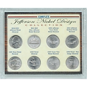 Jefferson Nickel Design Collection