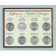 Jefferson Nickel Design Collection