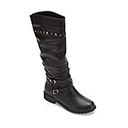 Stud Trim Biker Boot
