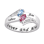 Ring Couples Birthstone