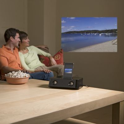 Docking Entertainment Projector