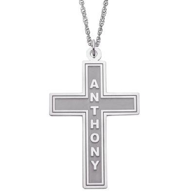 Name Cross Pendant