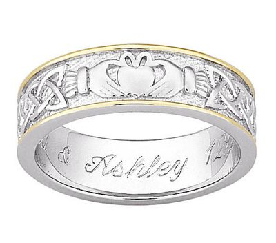 Personalized Claddagh Ring