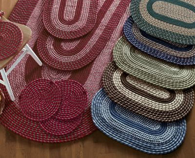 7-Piece 'Bristol' Braided Rug Set