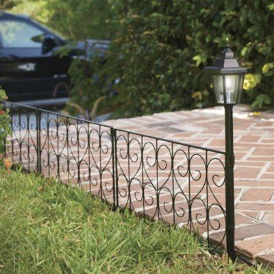 Solar Garden Fence