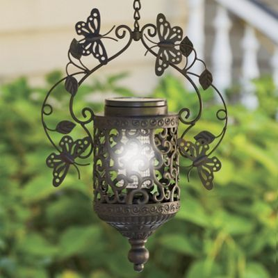 Solar Hanging Butterfly Lamp