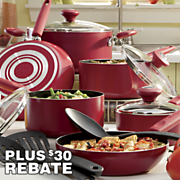13 Piece Silverstone  Nonstick Cookware Set By Farberware