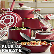 SilverStone ® 13-Piece Nonstick Cookware Set