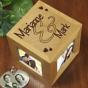 Couples Photo Cube