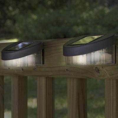 Solar Fence Post Lights