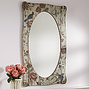 Mirror Summers glory antiqued