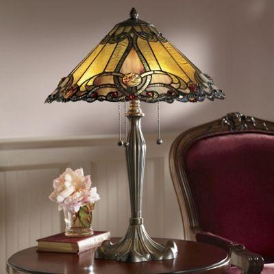 Amalia Stained Glass Lamp