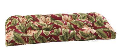Wicker Settee Cushion