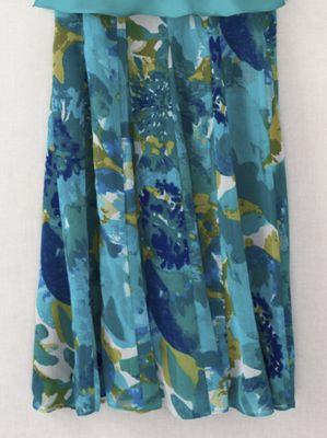 Watercolor Cascade Skirt