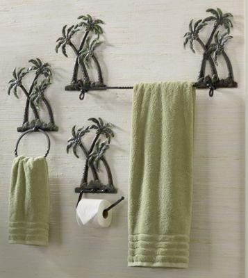 Palm Tree Bath Set from Ginny's