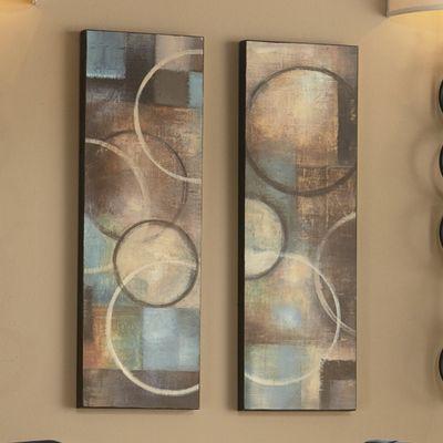 Geo-Spark 2-Panel Canvas Prints