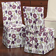 Berry Floral Chair...