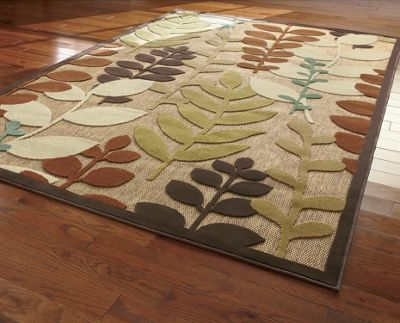 Portera Leaf Indoor/Outdoor Rug