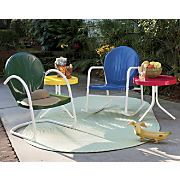 Retro Metal Lawn Furniture