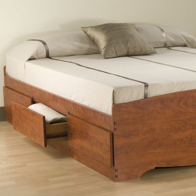 Platform Storage Bed