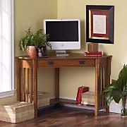 Mission Corner Desk
