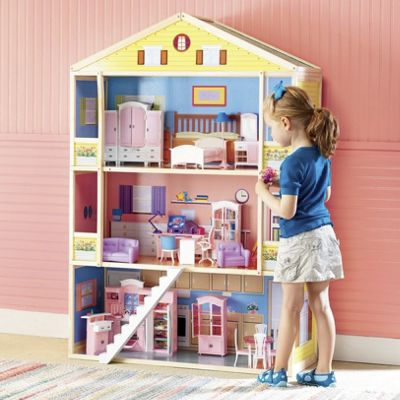 85-Piece Style Home Doll Furniture Set