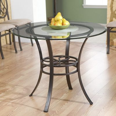 Lucianna Dining Table with Glass Top