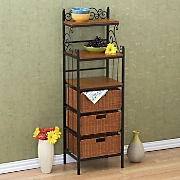 3-Drawer Kitchen Storage Rack