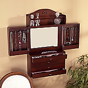 Wall Mount Jewelry Armoire