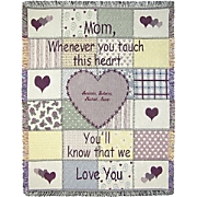 Throw Mother Personalized