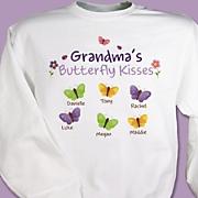 Sweatshirt Butterfly Kisses