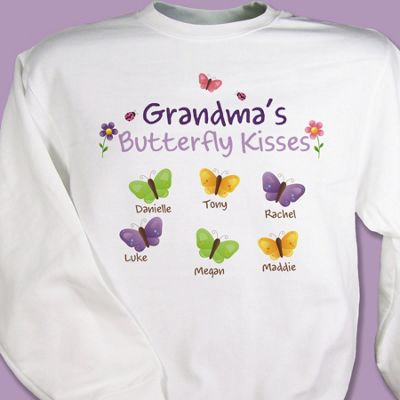 Butterfly Kisses Sweatshirt