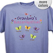 T Shirt Butterfly Kisses