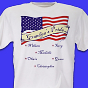 Personalized Tee American Pride